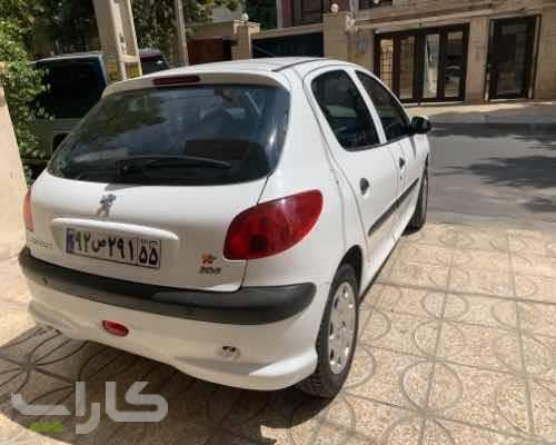خریدو فروش پژو 206 تیپ 2  مدل 1397 1182208