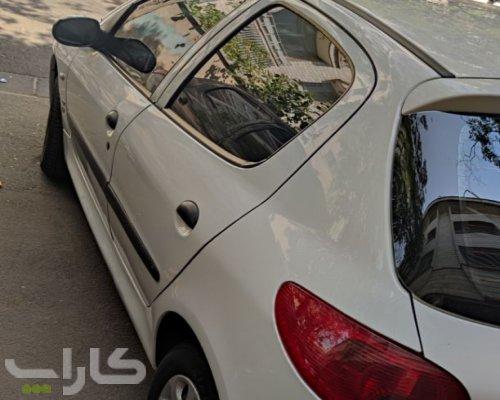 خریدو فروش پژو 206 تیپ 5  مدل 1396 1182260