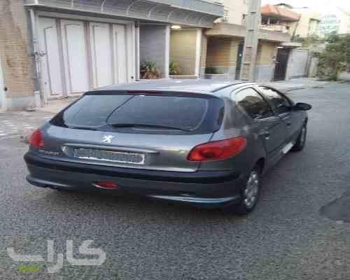 خریدو فروش پژو 206 تیپ 2  مدل 1396 1182033