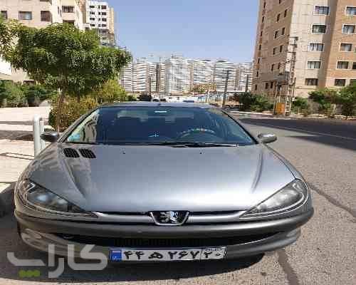 خریدو فروش پژو 206 تیپ 2  مدل 1389 1181942