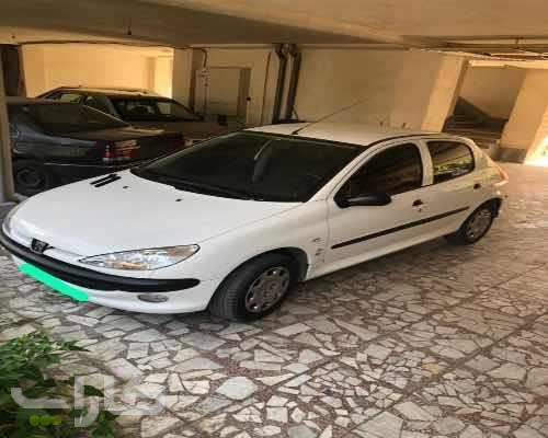 خریدو فروش پژو 206 تیپ 2  مدل 1396 1181868
