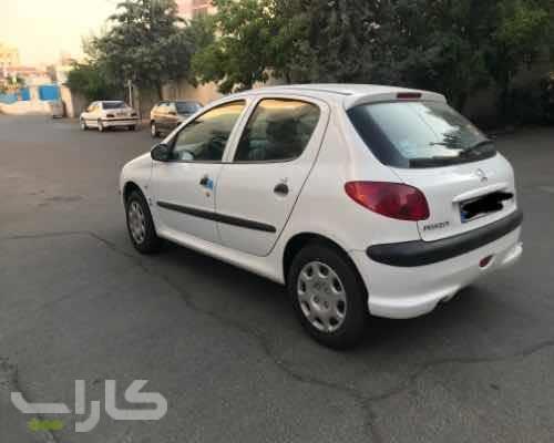 خریدو فروش پژو 206 تیپ 2  مدل 1397 1180492