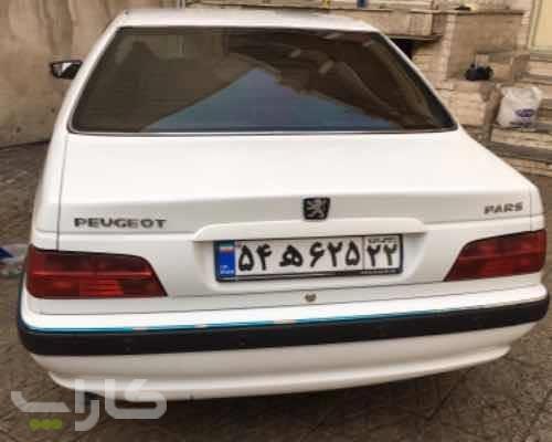 خریدو فروش پژو پارس معمولی داشبورد جدید  مدل 1394 1176019