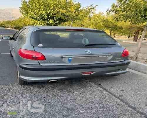 خریدو فروش پژو 206 تیپ 6  مدل 1390 1182198