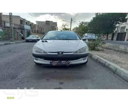 خریدو فروش پژو 206 تیپ 5  مدل 1392 1181876