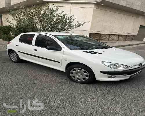 خریدو فروش پژو 206 تیپ 2  مدل 1397 1182163