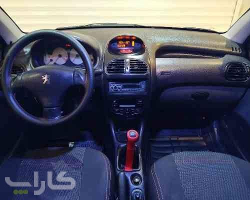 خریدو فروش پژو 206 اس دی V8  مدل 1393 1180289